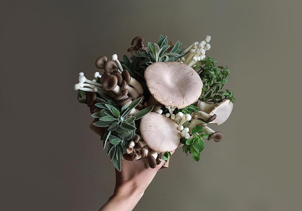 Jill Bliss liebt Pilze und bastelt daraus Magical Mushroom Medleys
