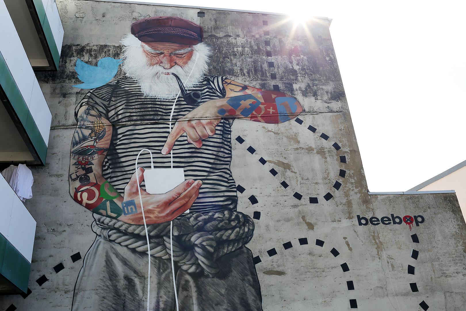 Seemann Mural Hamburg