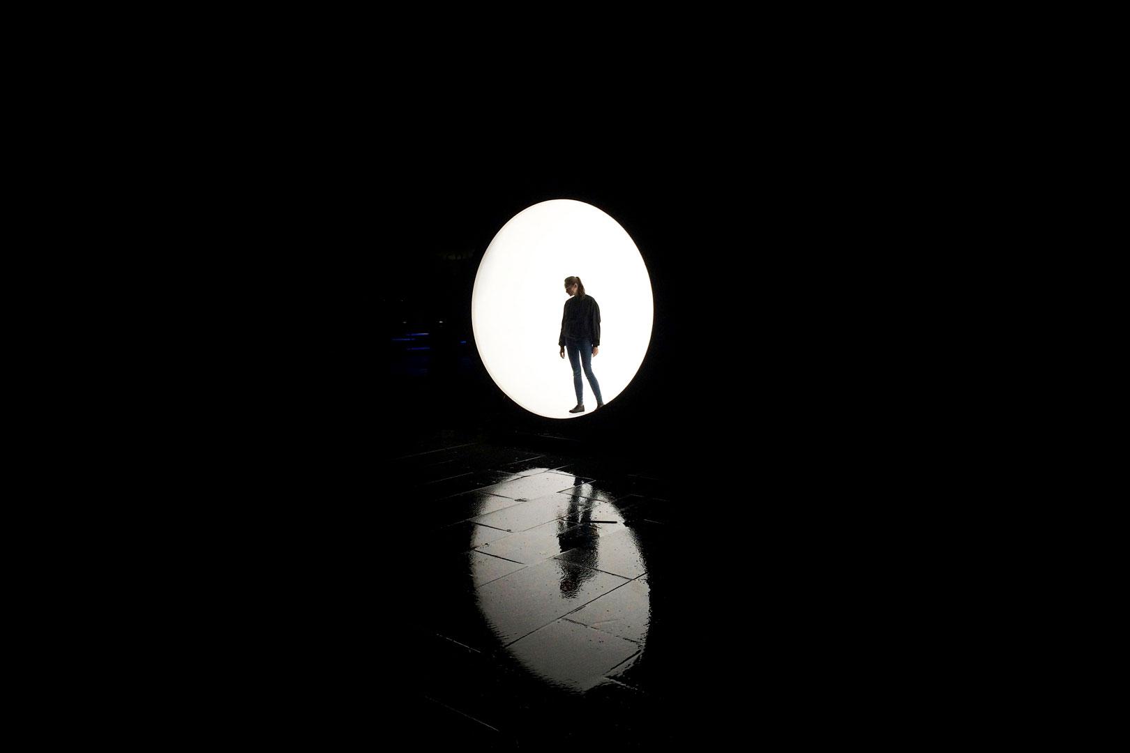 Lichtskulpturen von Karolina Halatek