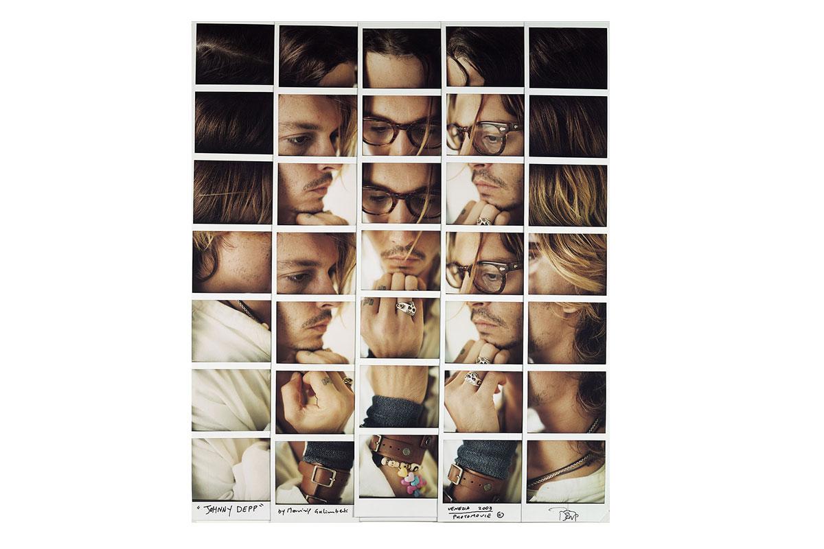 Polaroid Mosaiken von Maurizio Galimberti