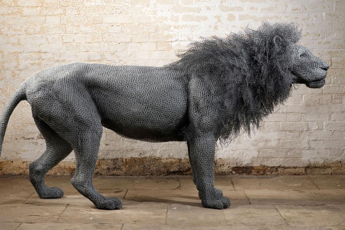 Wire Animal Sculptures