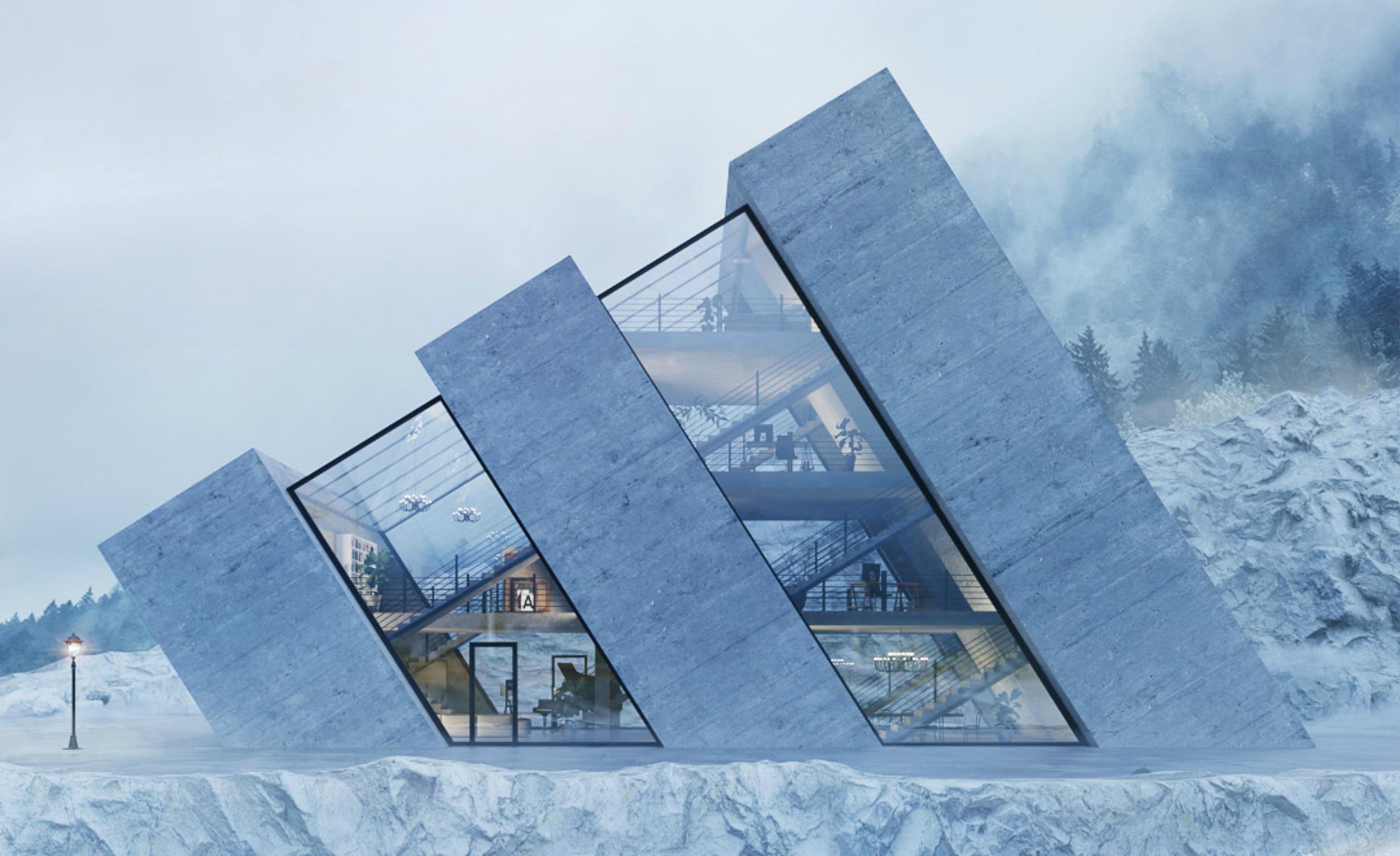 Ausgefallene Architektur - na LOGO