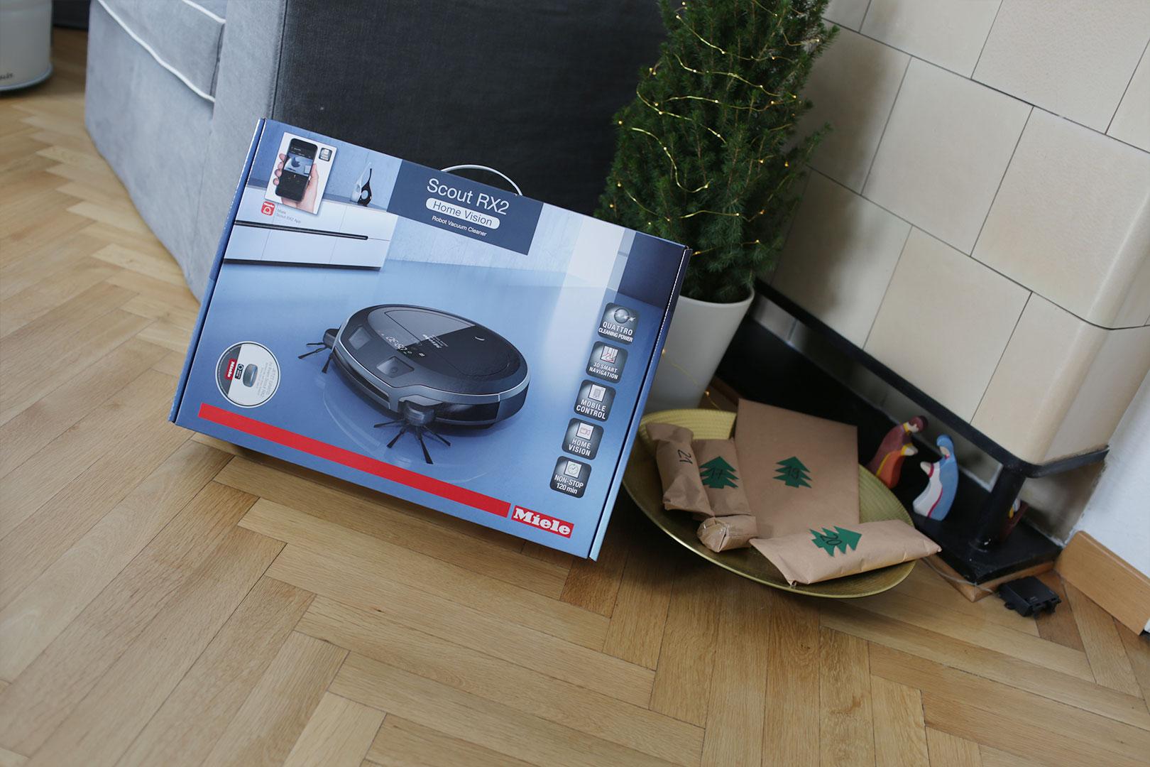Der Miele Scout RX2 Home Vision – der Saugroboter mit Live-Bildübertragung für eine entspannte Weihnachtszeit