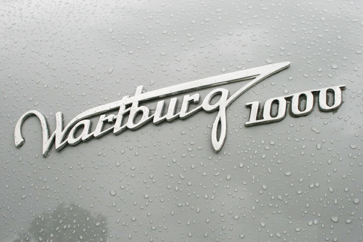 Wartburg Chrom-Emblem