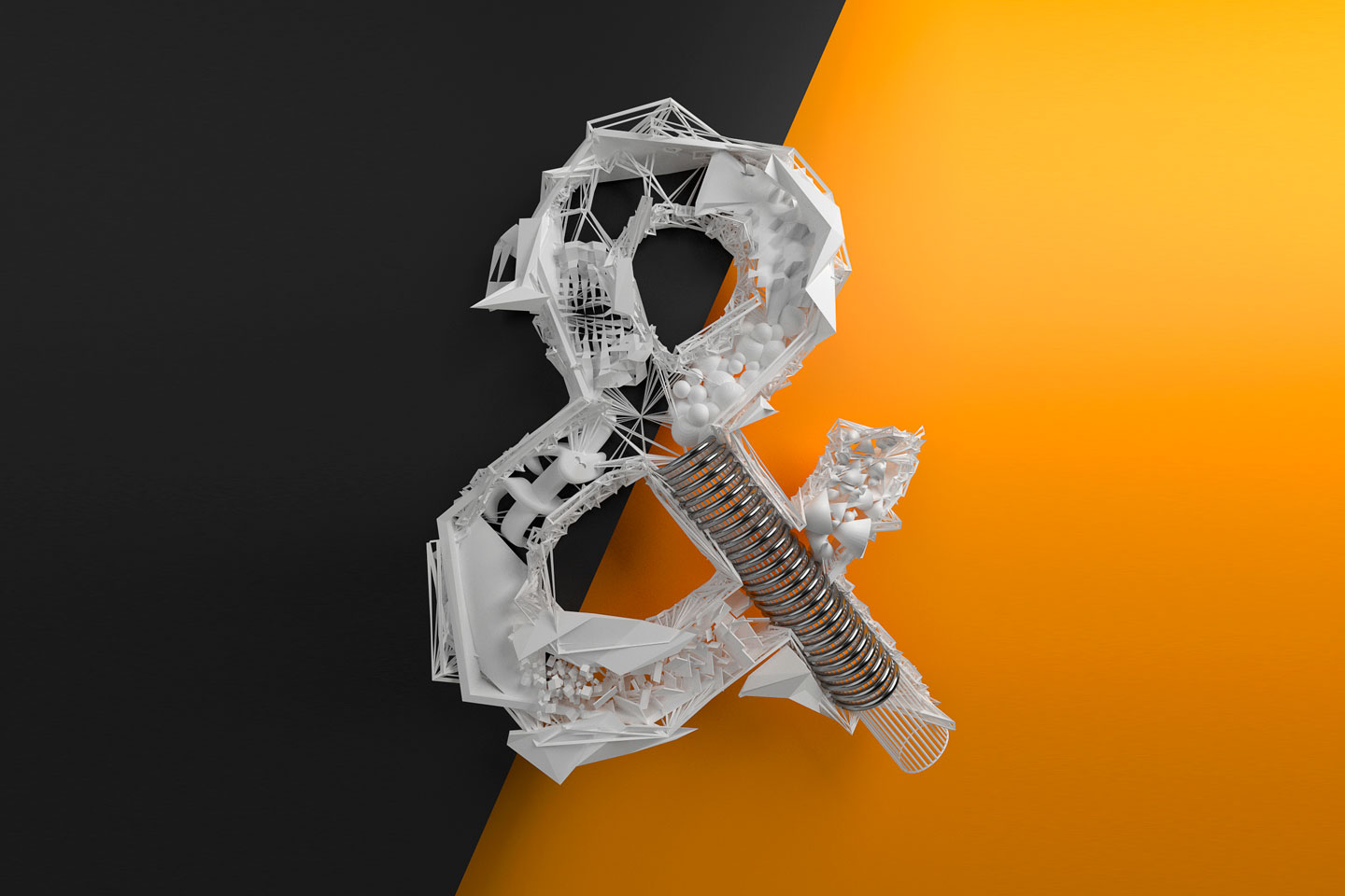 3D Typo – Made by Langeweile
