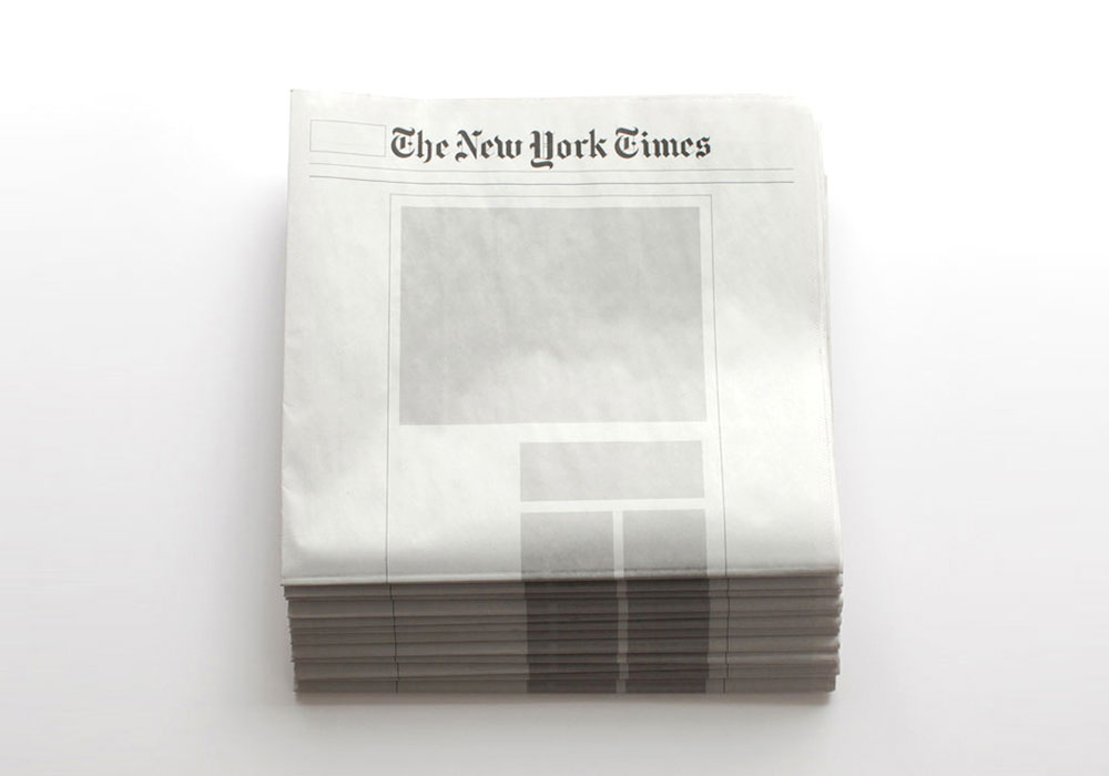 Wenn eine Zeitung blankzieht – die großen Nachrichtenblätter ohne Inhalt