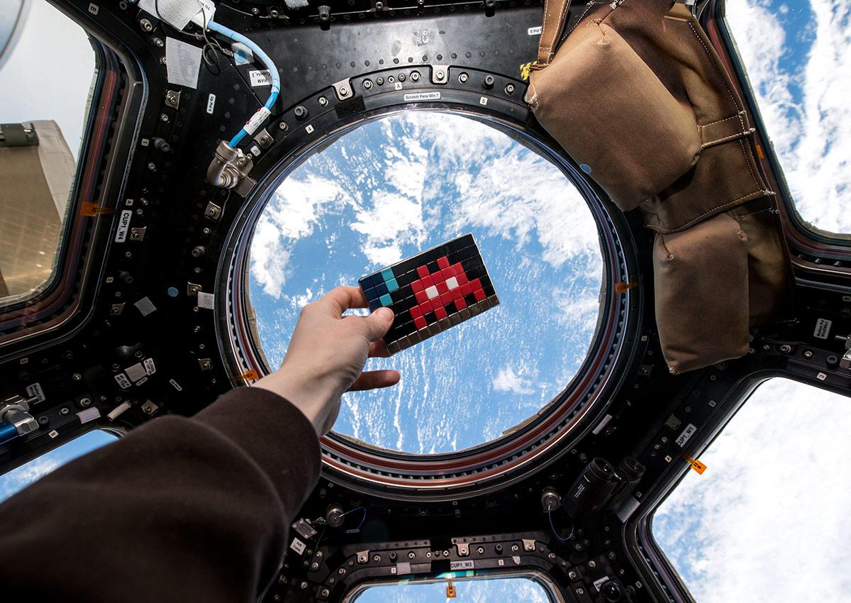 Die Space Invaders setzen zum Angriff an