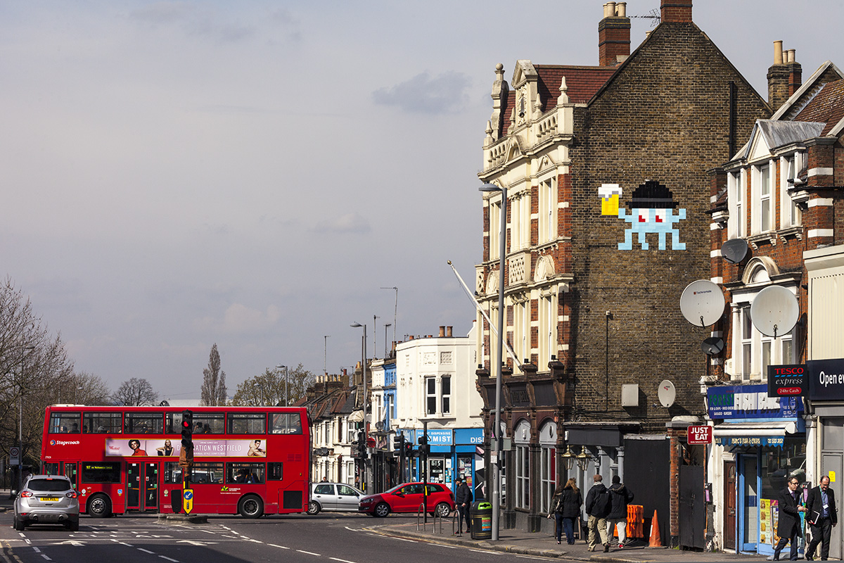 Space Invaders London