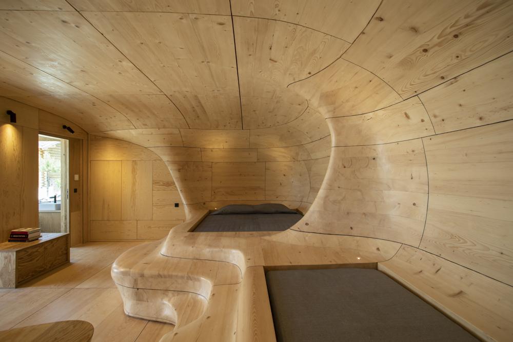 Die stylischste Höhle der Welt - Die Wooden Cave von Tenon Architecture