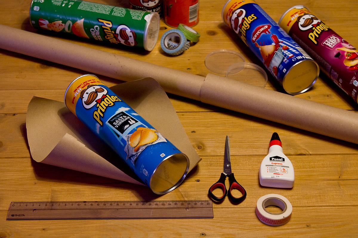 Do-it-Yourself Pringles Partydosen für Silvester + Gewinnspiel