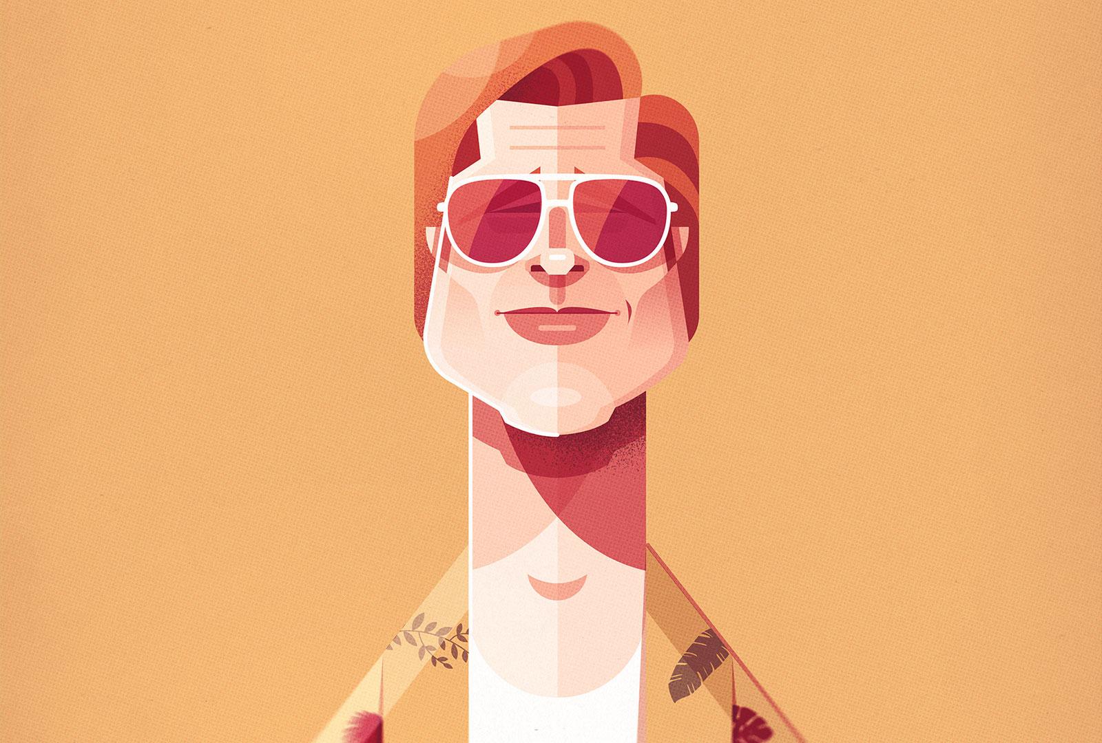 Popkultur Illustration