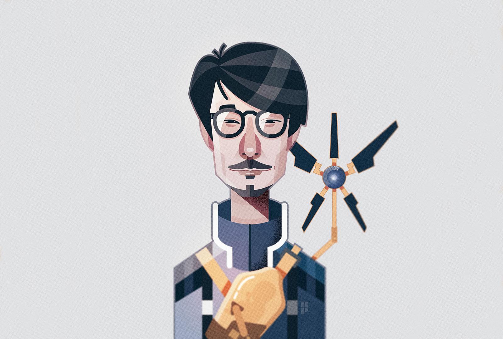 Spieleentwickler illustirert