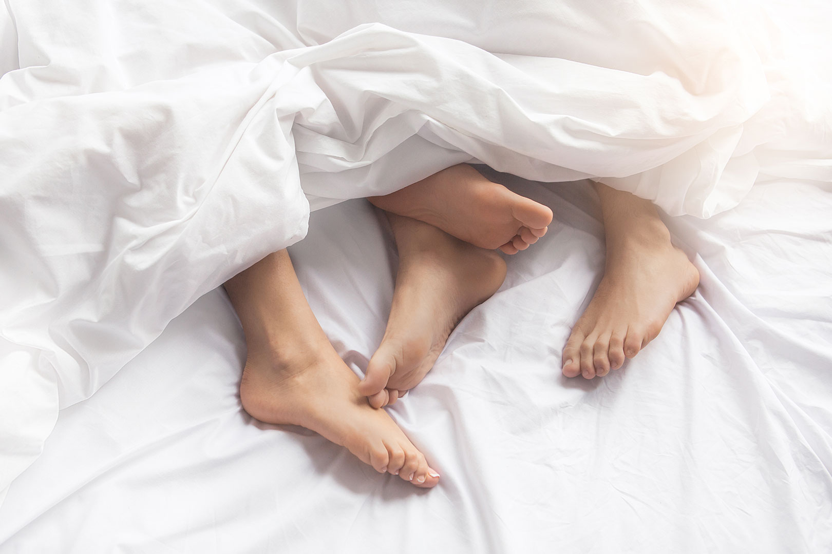 Flaute im Bett: Wie kann man das Sexualleben verbessern?