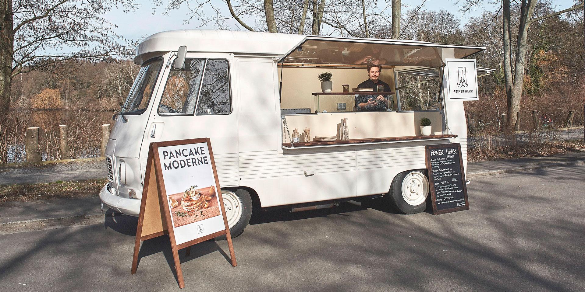 Pfannkuchen neu interpretiert – Pancake Moderne von FEINER HERR