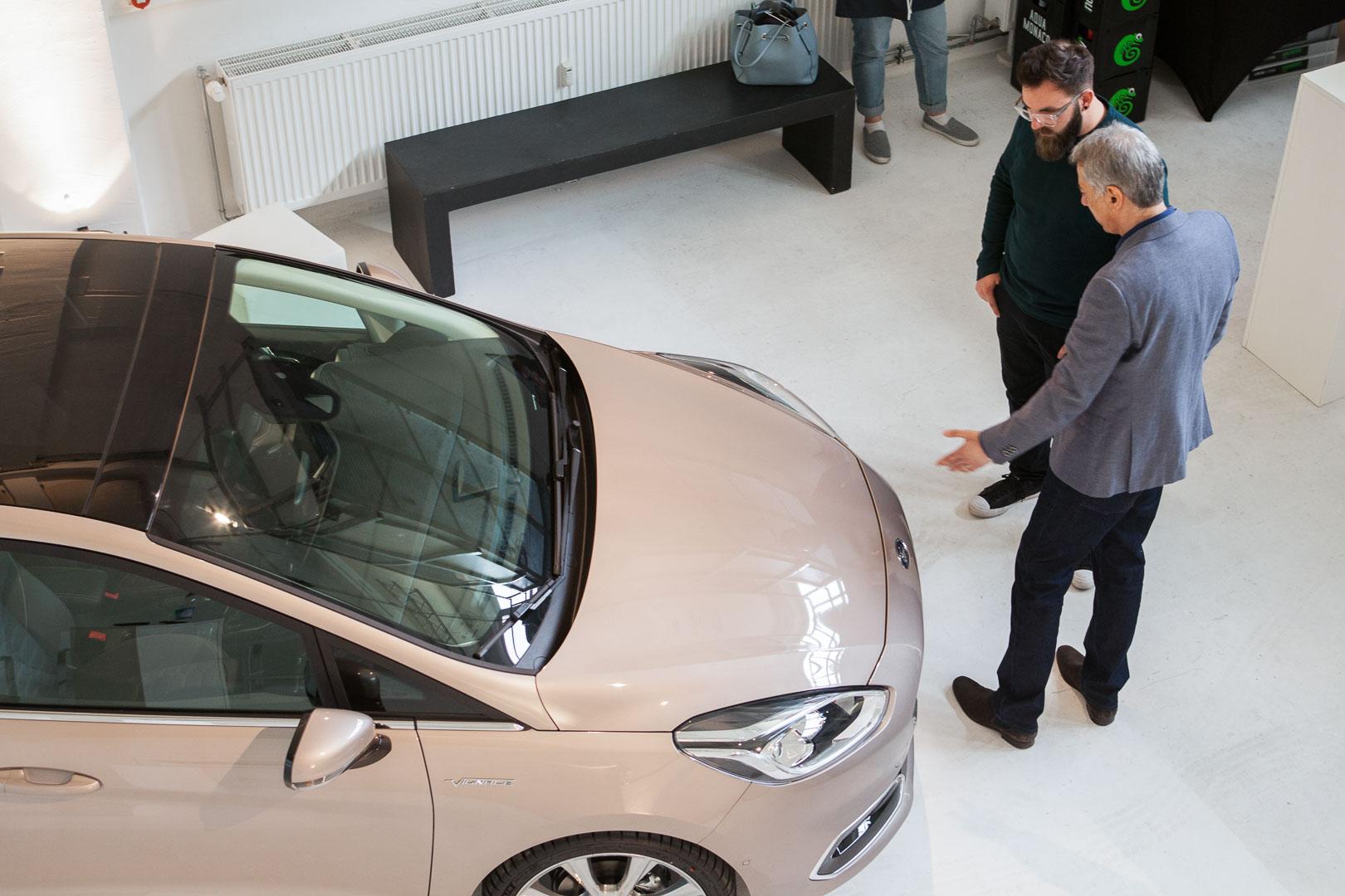 Ford Interior Design Workshop – Der neue Ford Fiesta Vignale