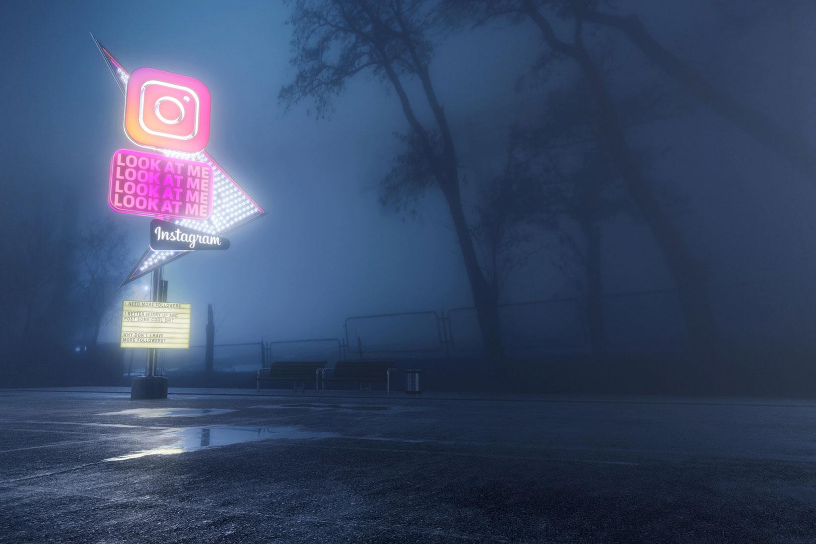 The Antisocial Network – Kritische Bilder aus dem 3D-Programm
