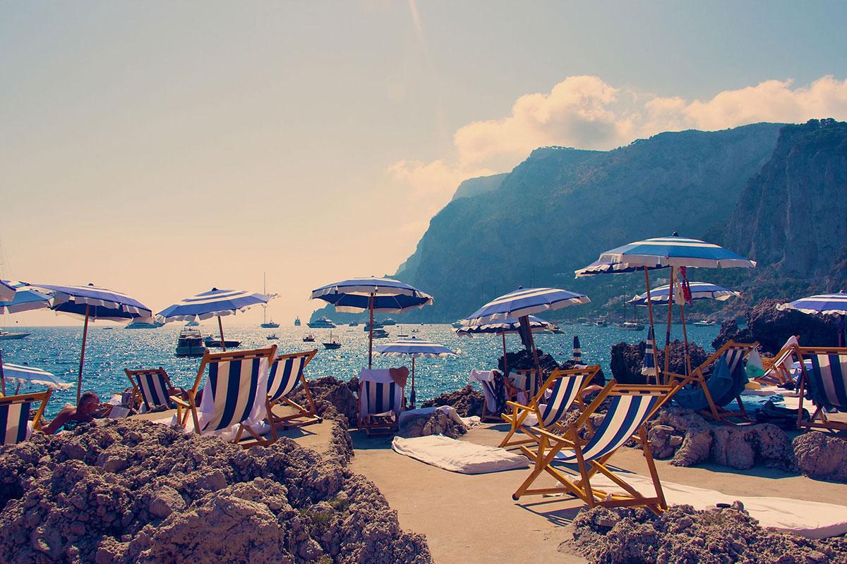 La Fontelina Beach Club, Capri