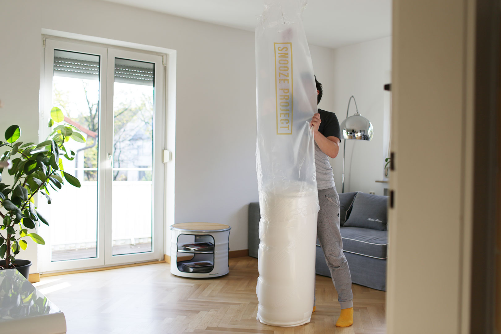 Snooze Project Verpackungsfolie