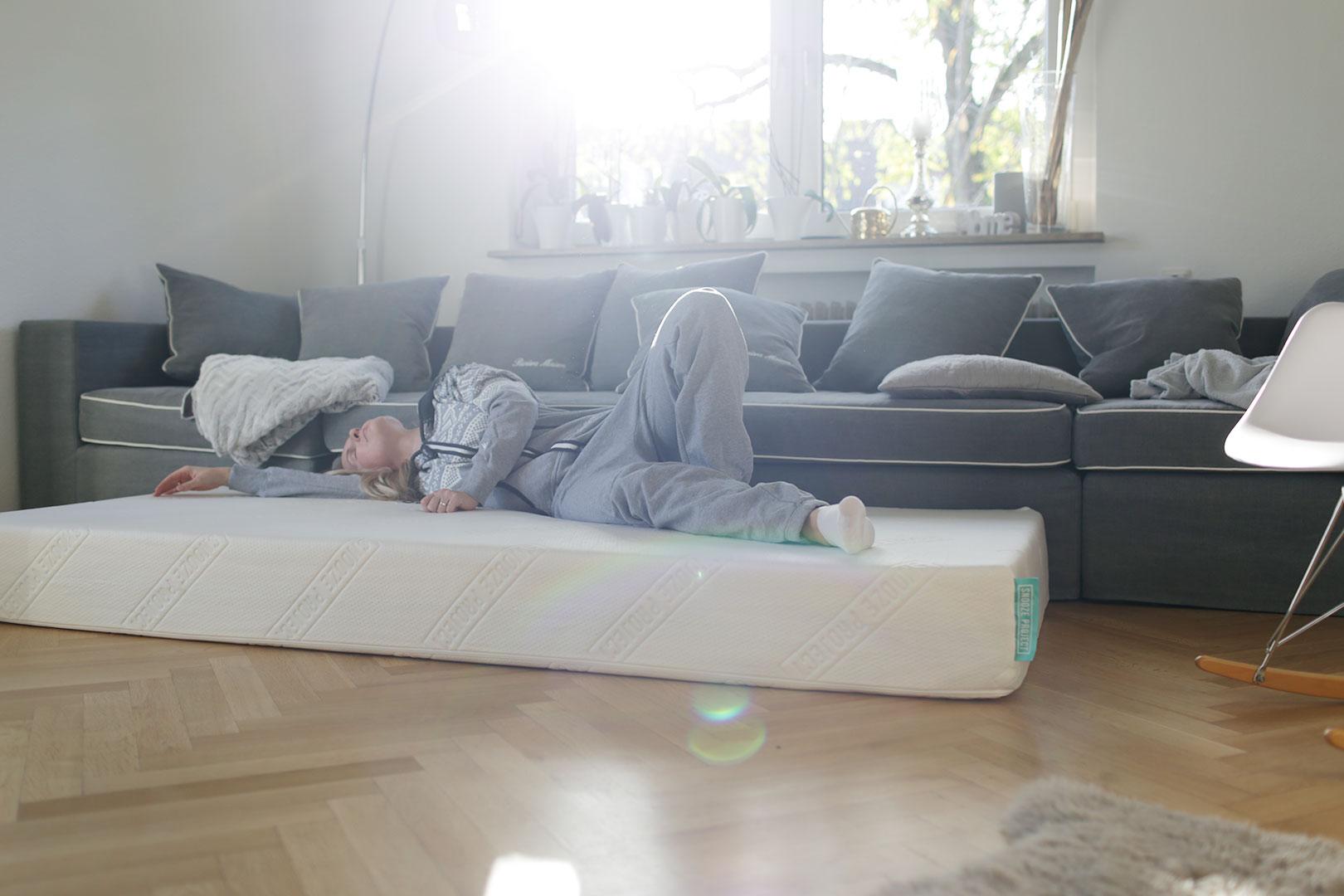 Snooze Project Matratze schlafen