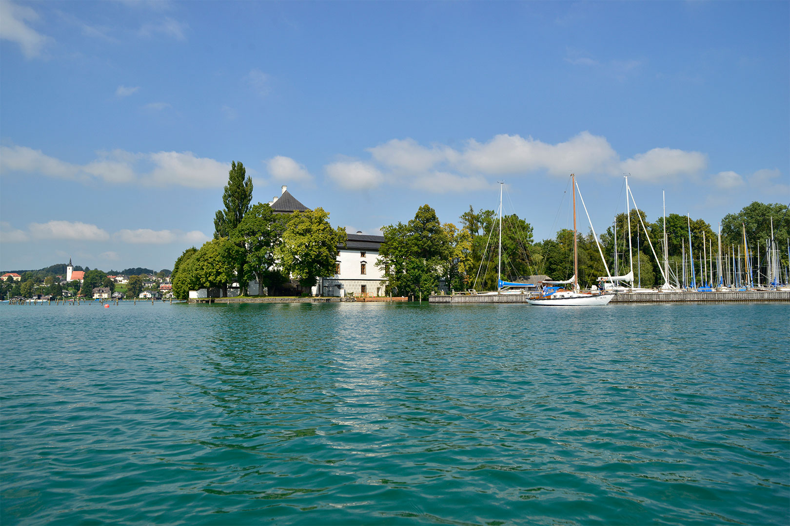 Auf den Spuren von Gustav Klimt zwischen Attersee und Höllengebirge