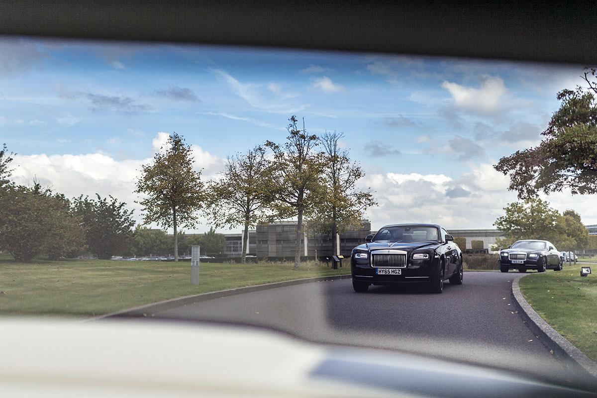 Rolls-Royce Probefahrt