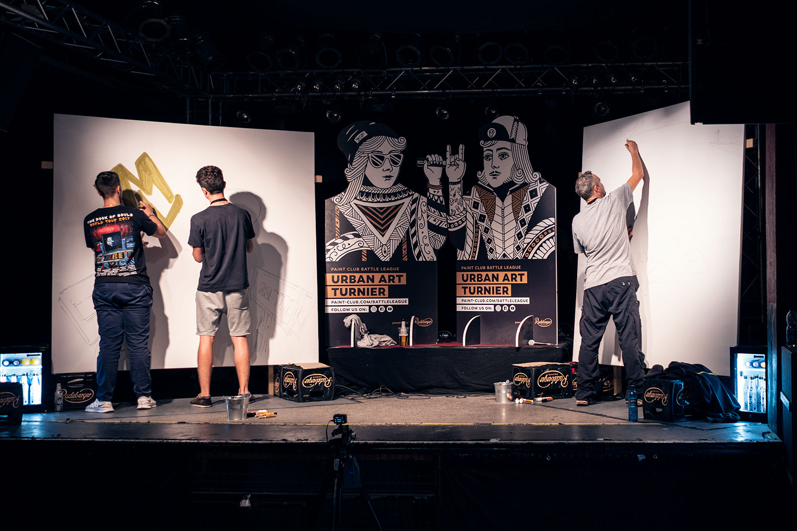 Paint Club Battle League 2018 Urban Art Wettkampf in Rostock
