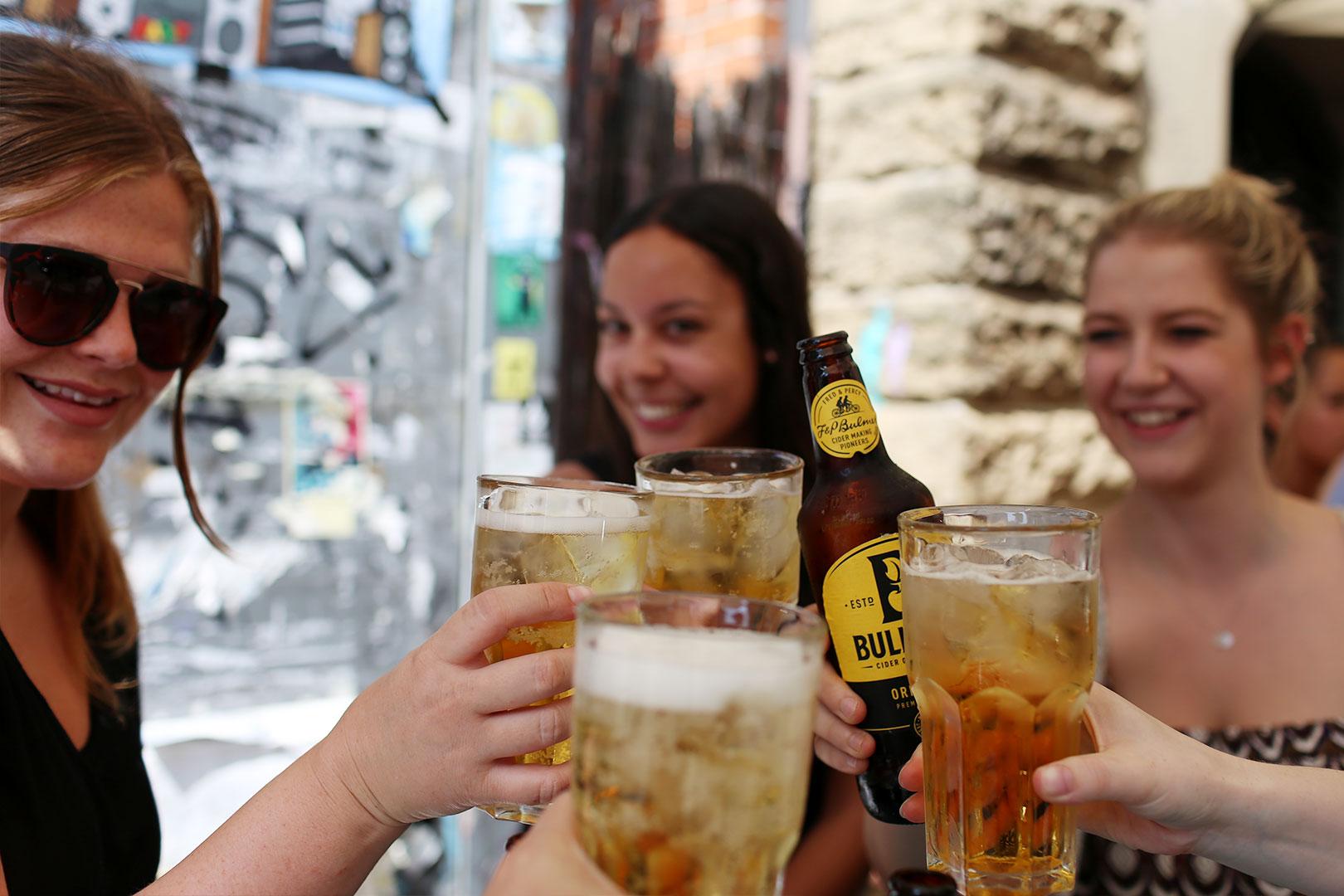 Bulmers erfrischend Cheers