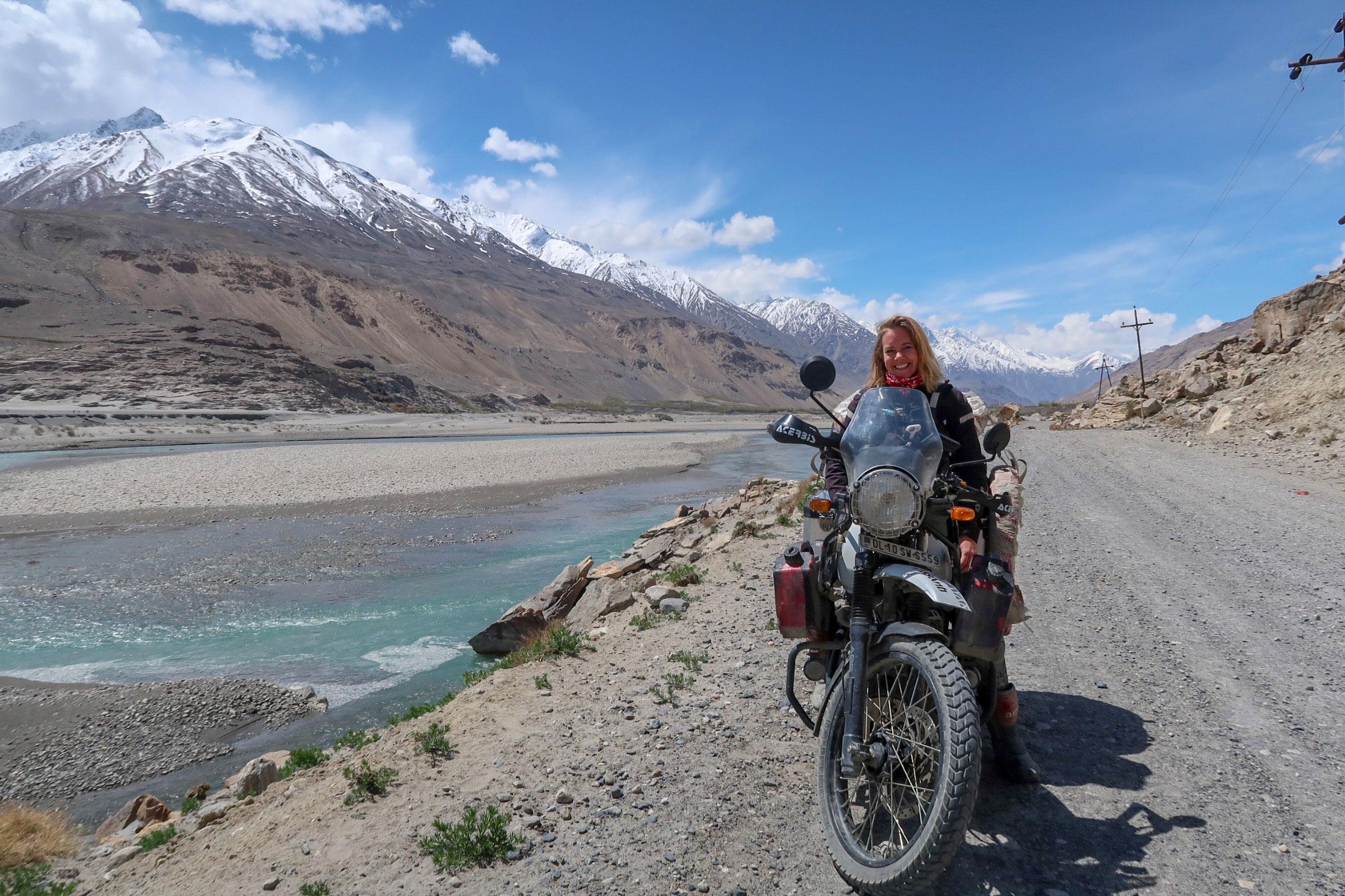 Alleine um die halbe Welt, auf einer Royal Enfield Himalayan