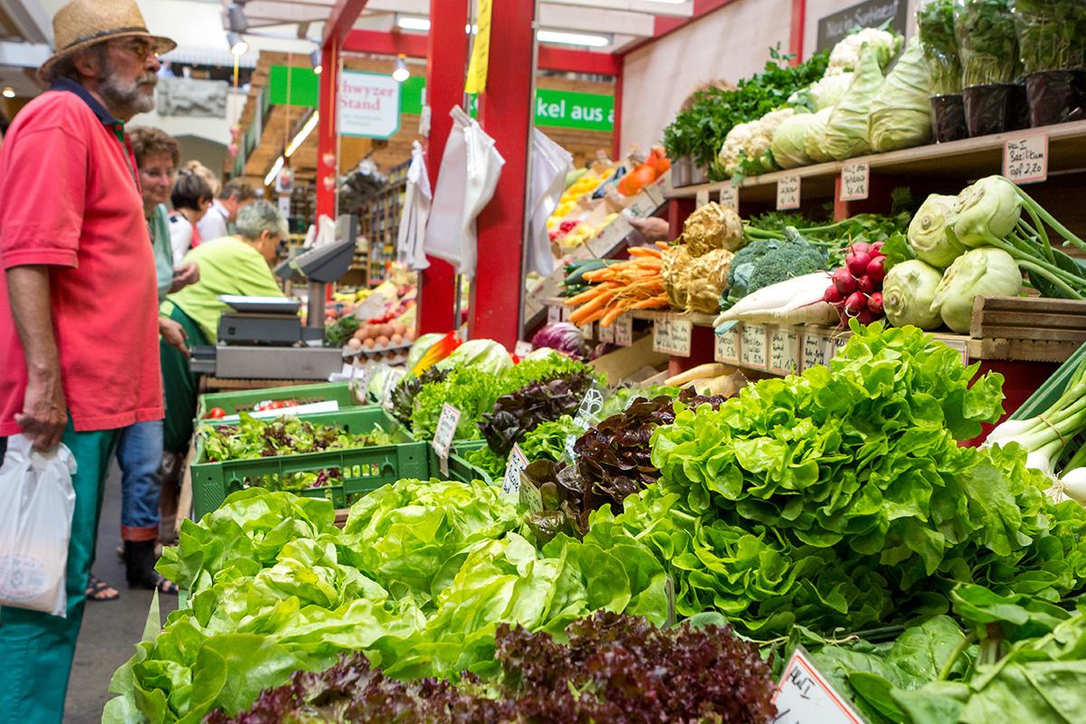 Gemüse in allen Varianten