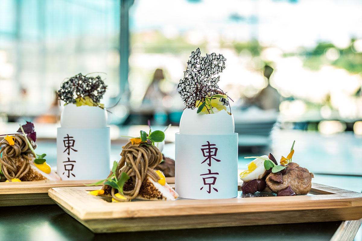 Dine Around The World im Supper Club