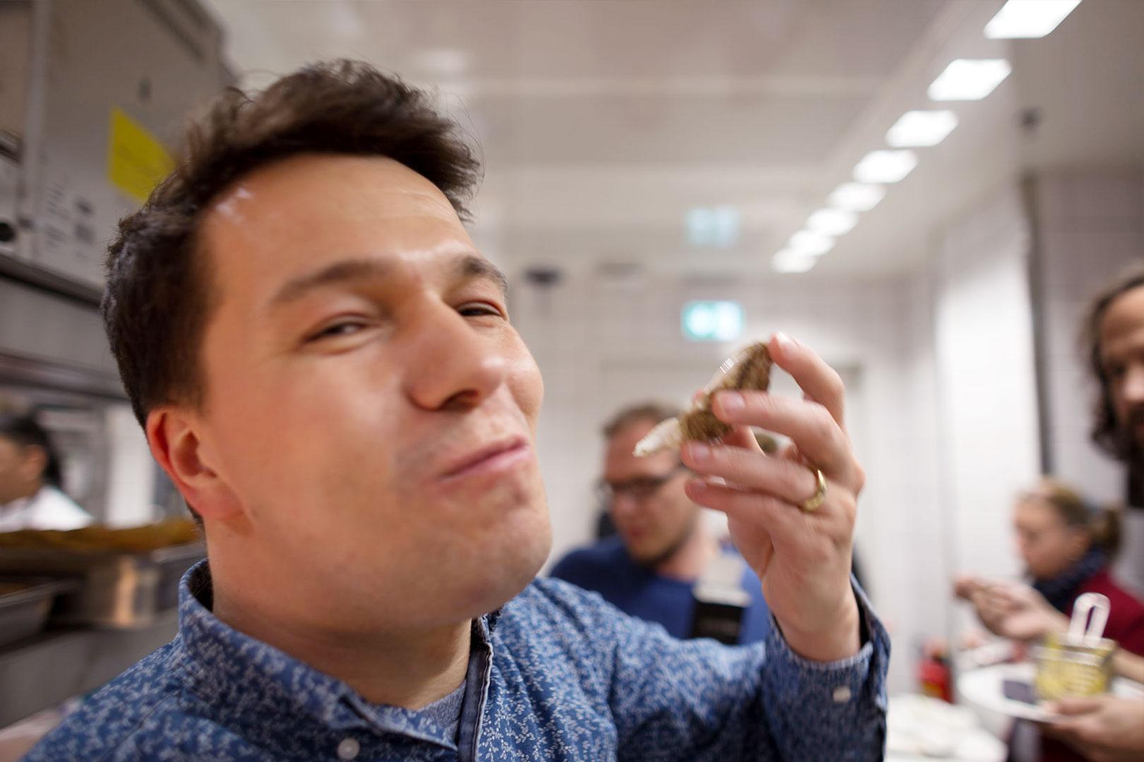Austern schlürfen
