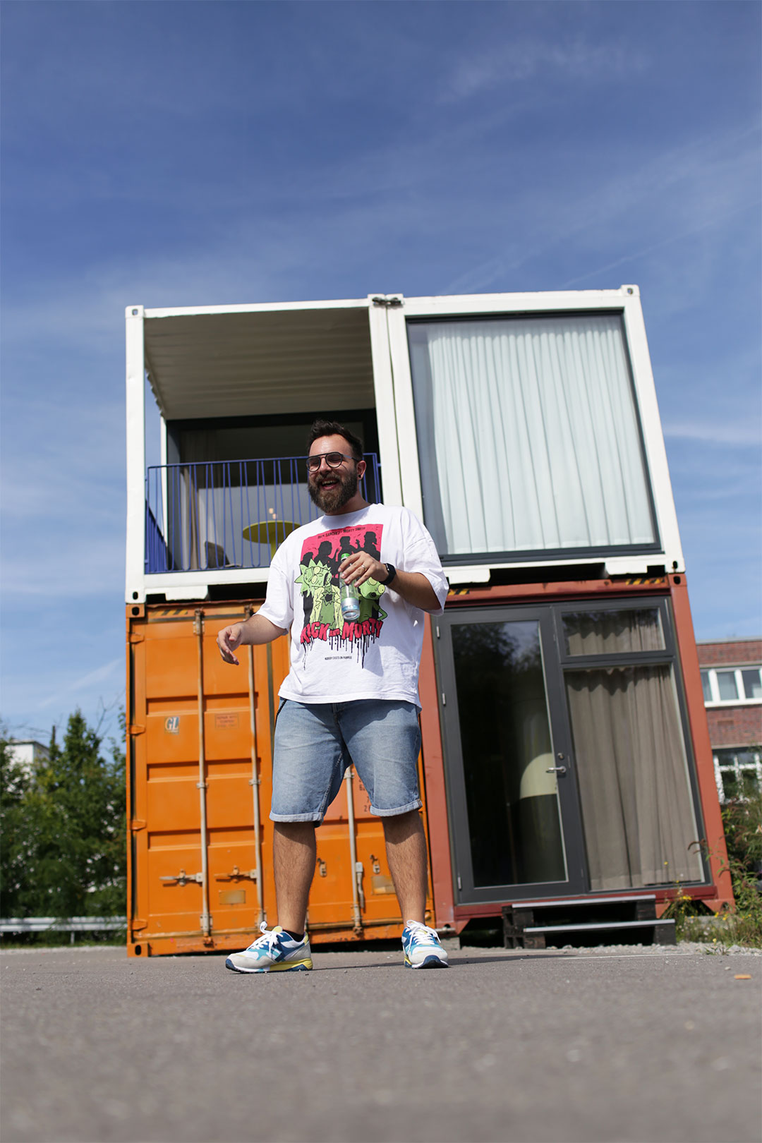 Containerfreude
