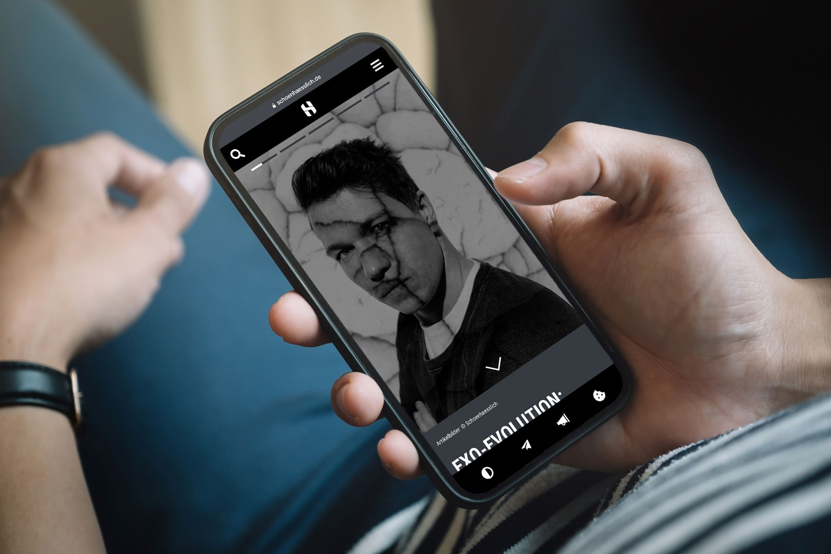 Mobile First: Der Schoenhaesslich Relaunch auf den du solange gewartet hast