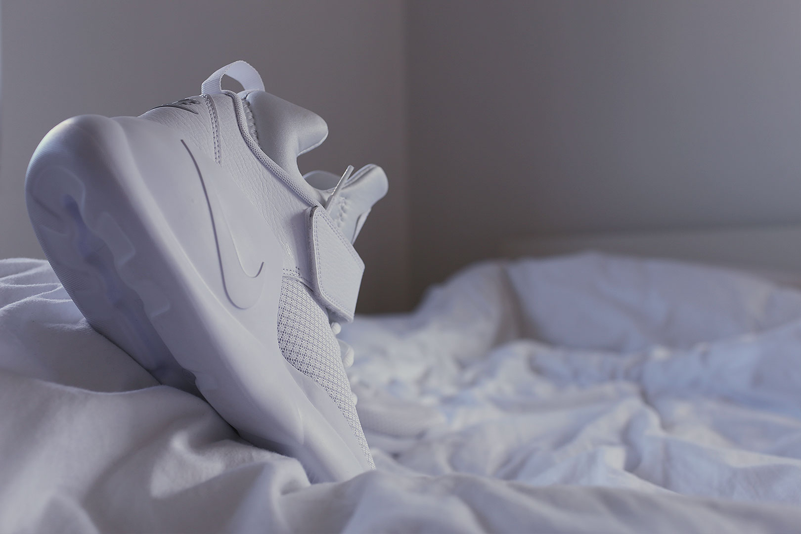 All-white Nike Kwazi