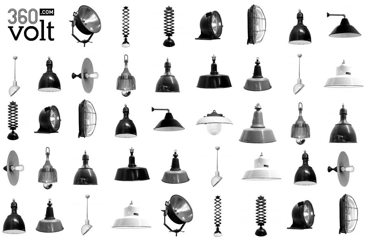 Industrielampen von 360volt