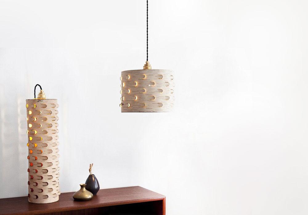 Möbel aus Birkenrinde von Anastasiya Koshcheeva