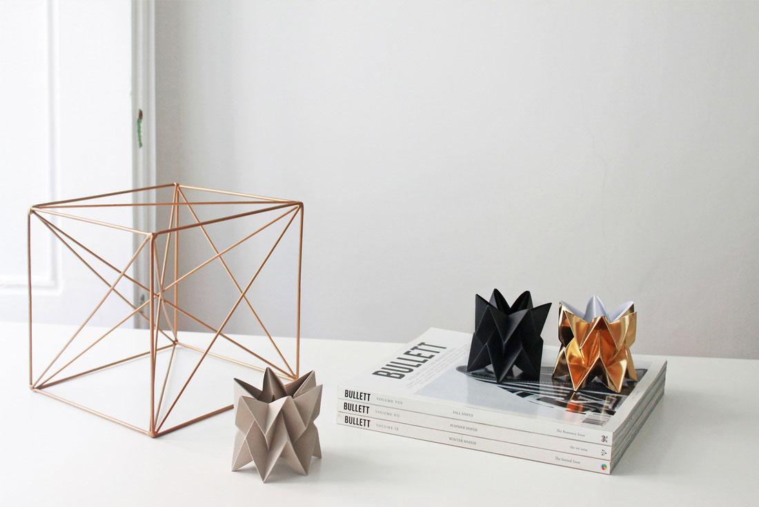 Origami Leuchten von Orikomi
