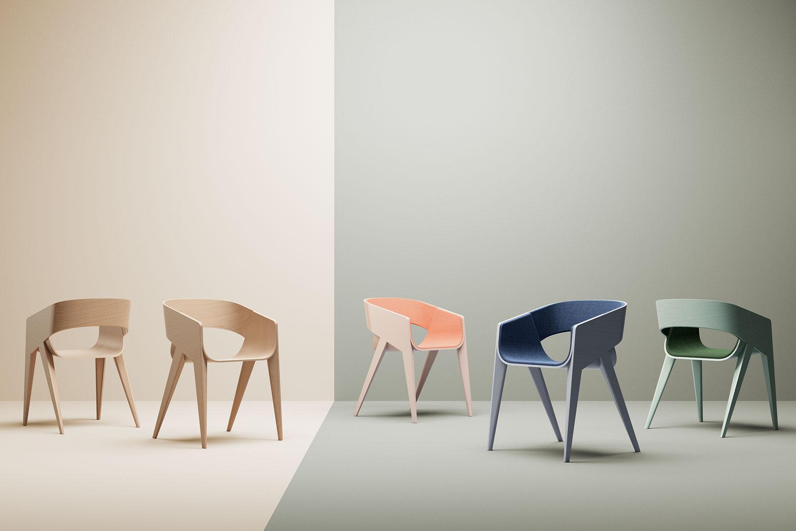 SLIM Chair – nicht wirklich dünn, aber minimalistisch und formschön