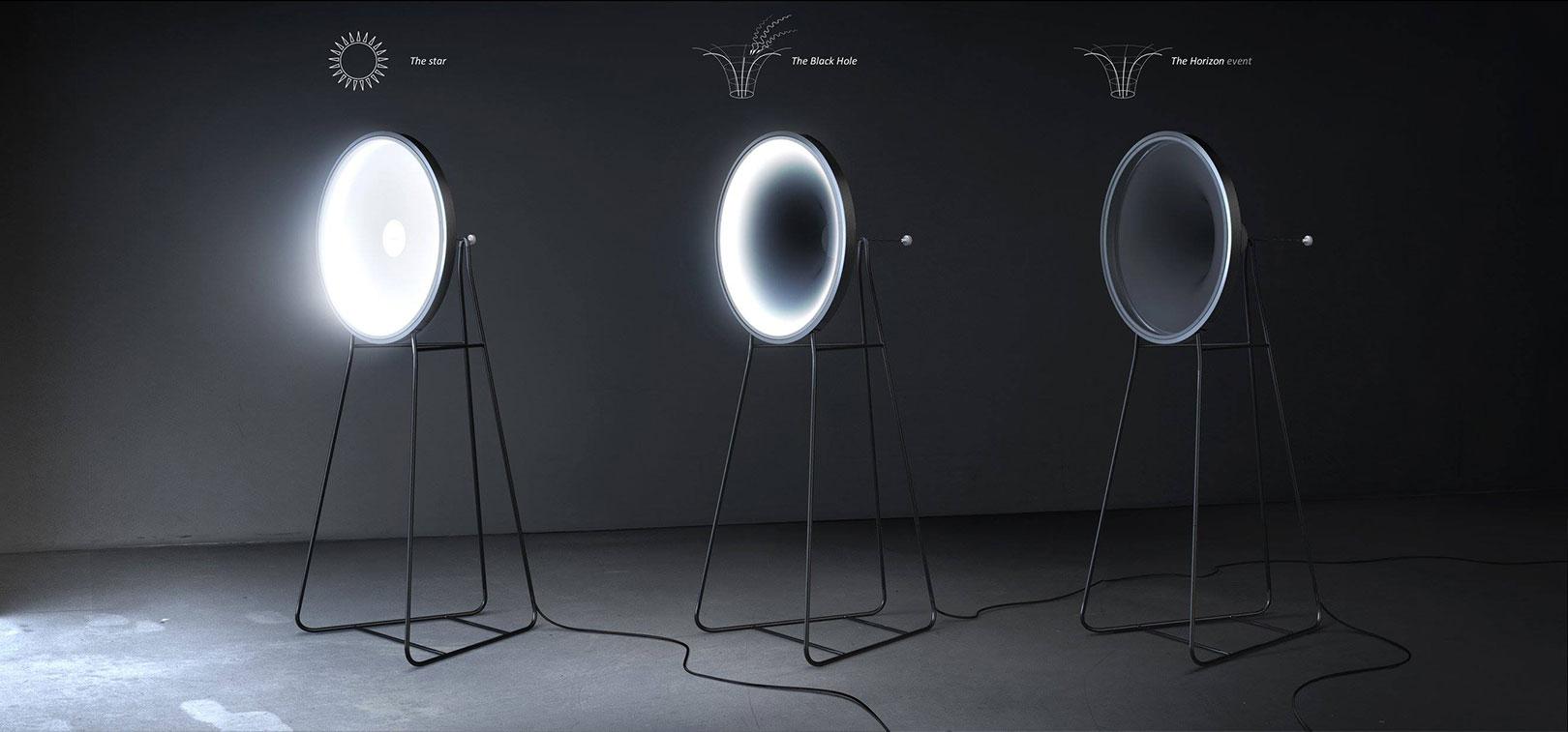The Black Hole Lamp