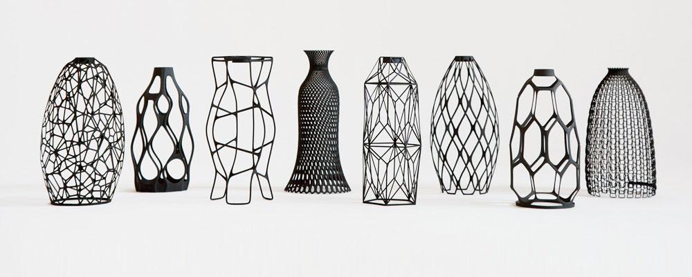 So machst du mit dem 3D-Drucker aus Wasserflaschen Blumenvasen