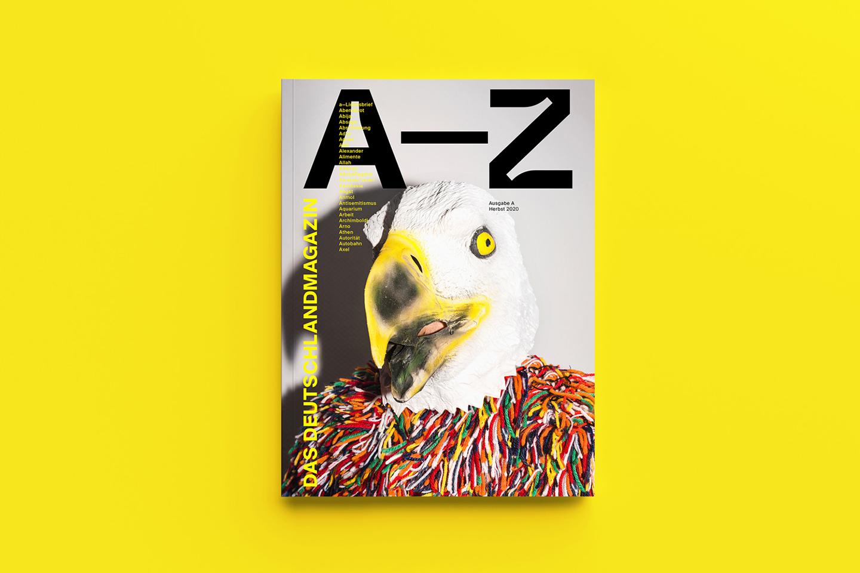 A-Z Das Deutschlandmagazin – frei von Patriotismus und gängigen Kartoffel-Klischees
