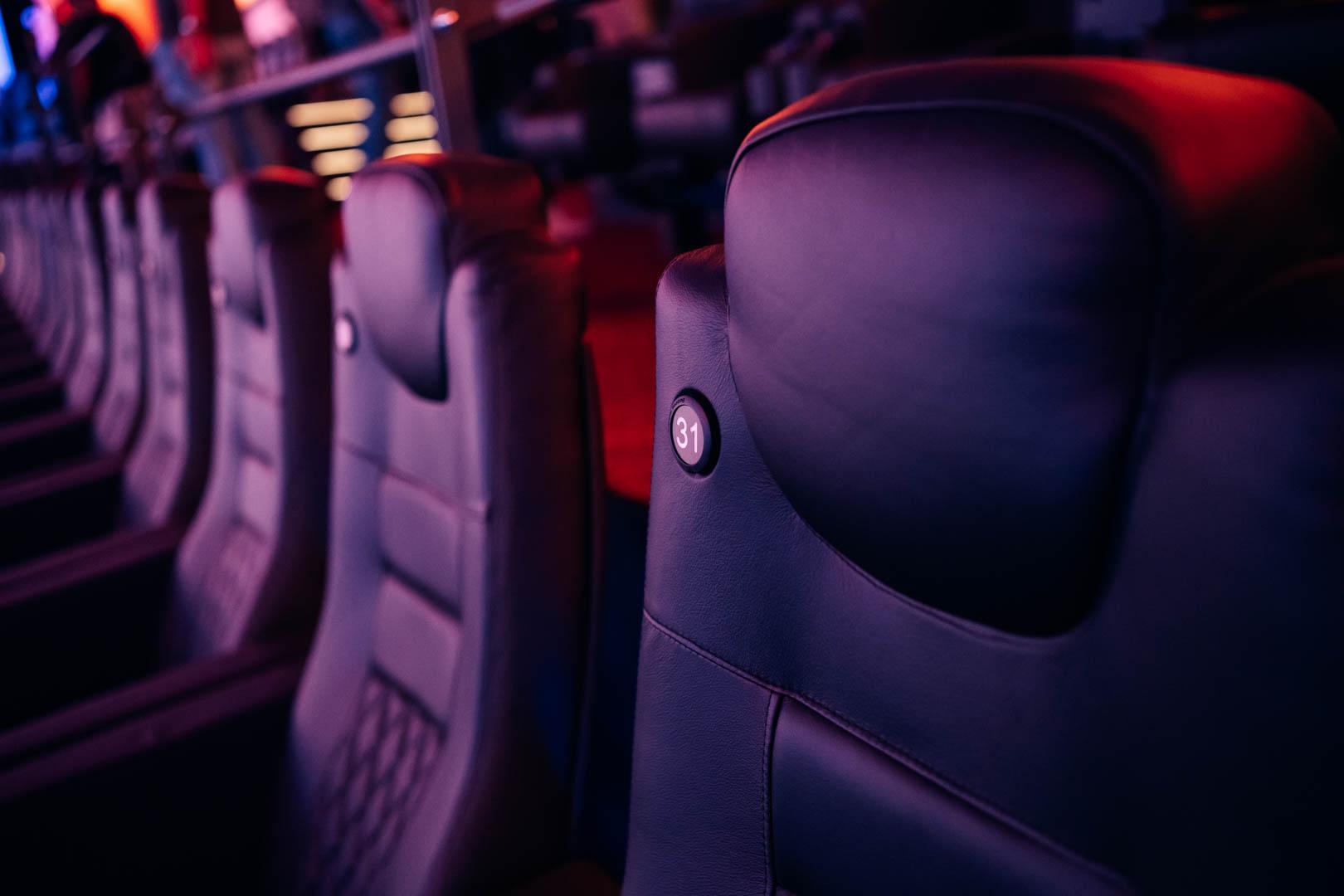 Die Größe IMAX Leinwand der Welt