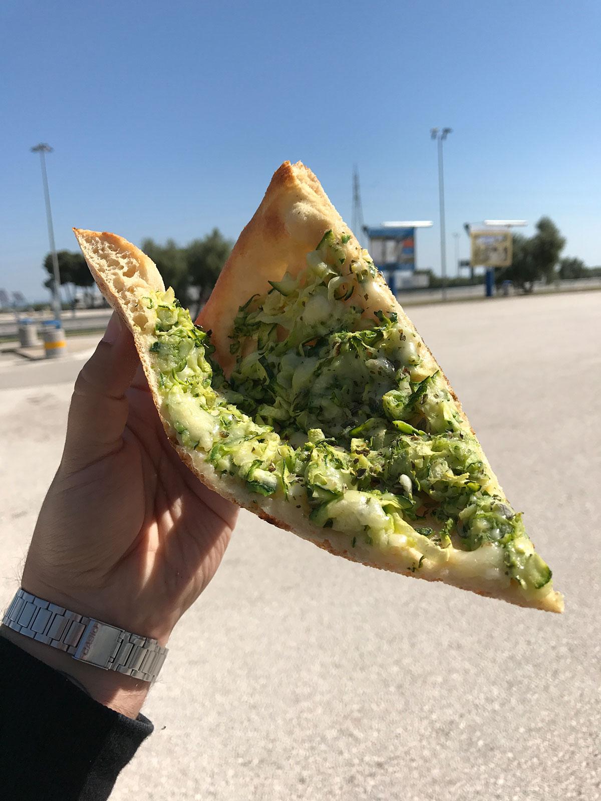 Pizza Zucchina