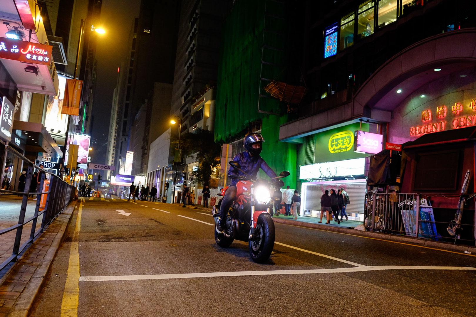 Hongkong bei Nacht – Und du tanzt so schön im Neonlicht