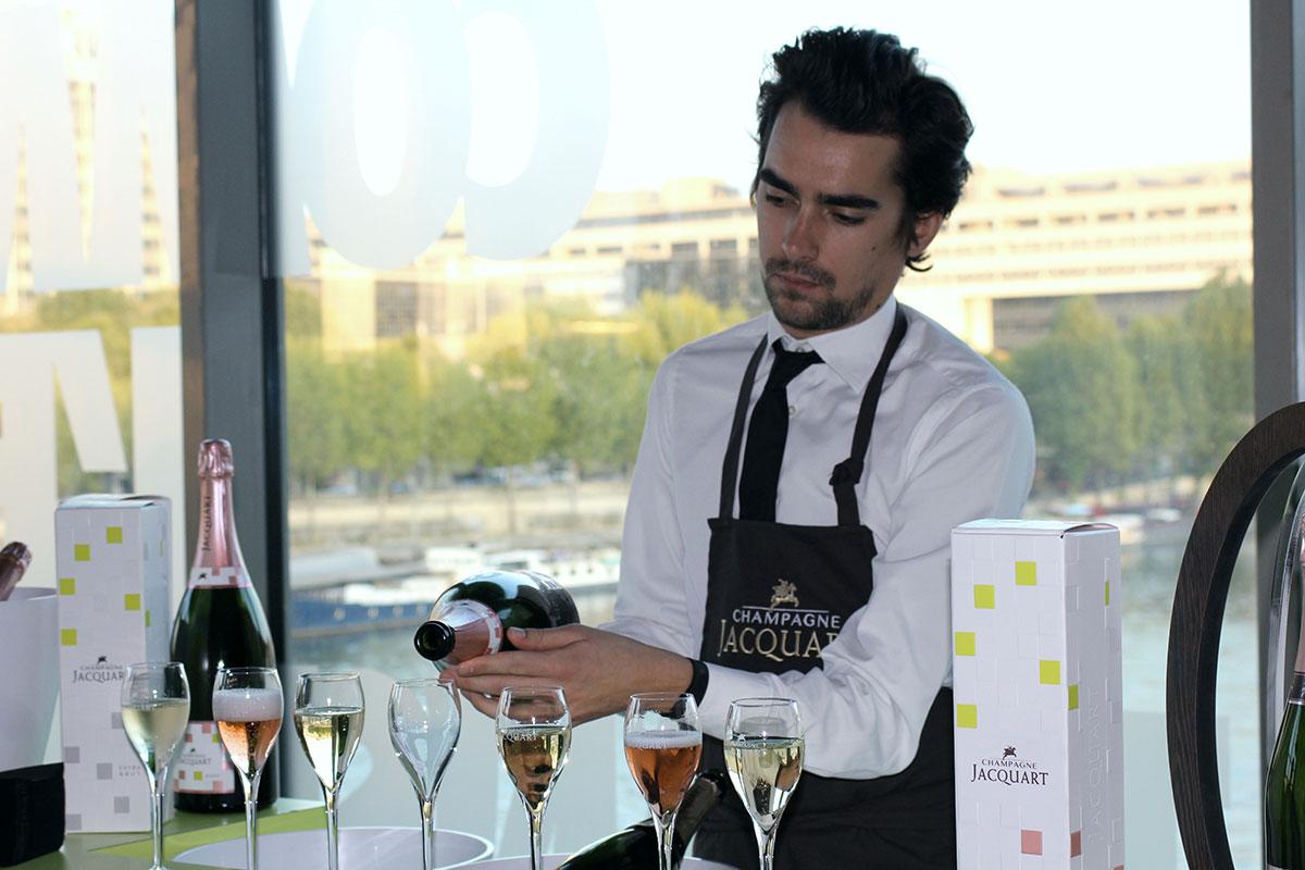 Paris – Champagne Jacquart