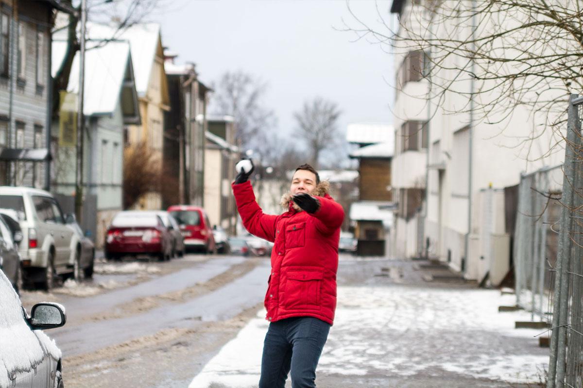 Auf den Straßen von Tallinn