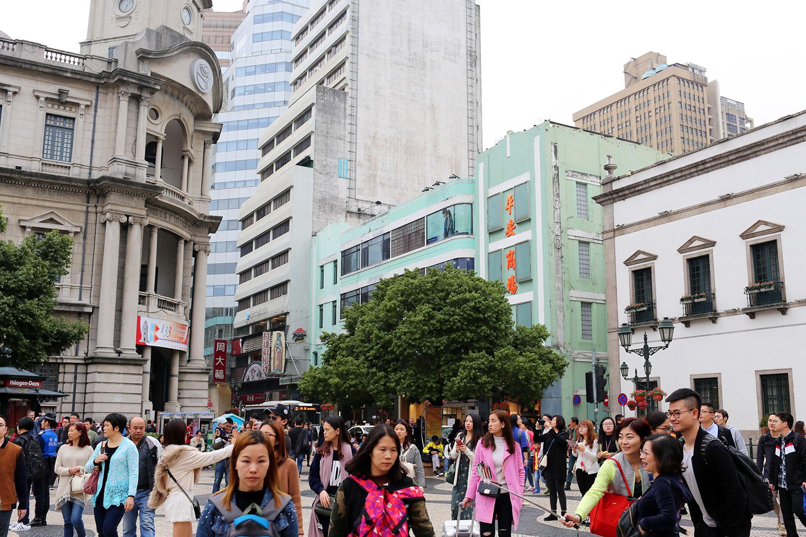 Ein Ausflug nach Macau von Hongkong