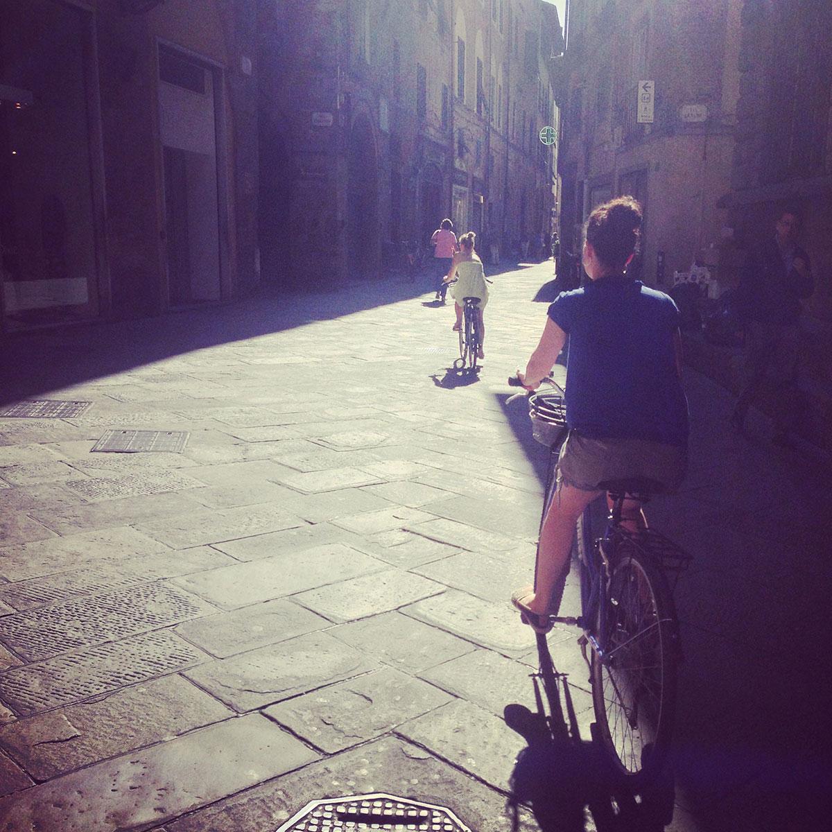 Fahrrad-Tour durch Lucca