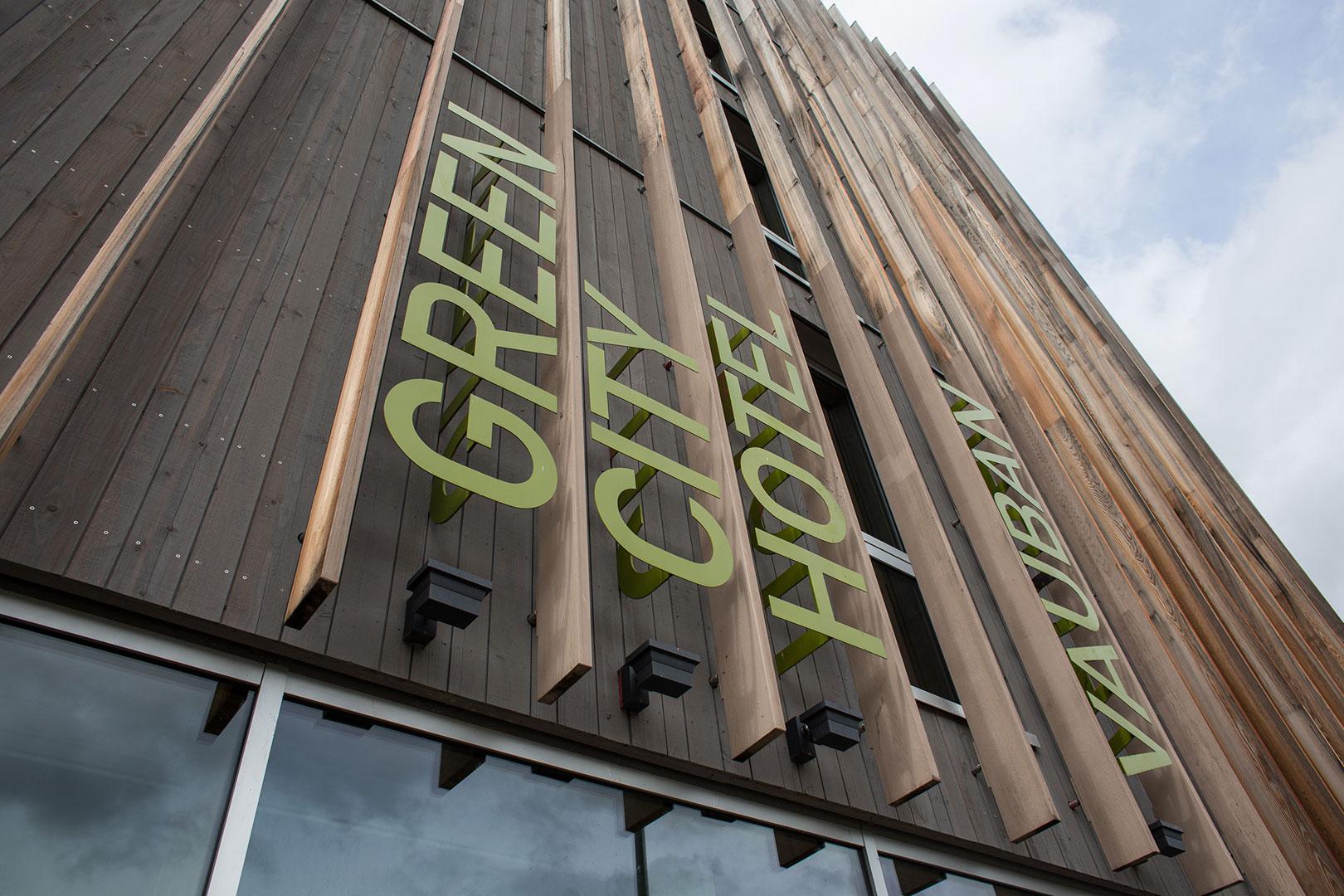 Green City Hotel Fassade