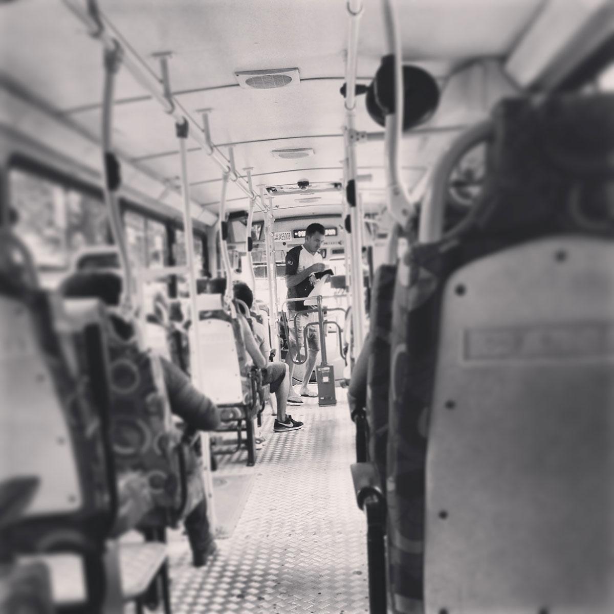 Bus fahren in Rio de Janeiro